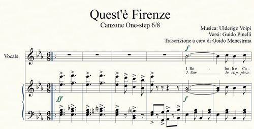 Quest'è Firenze (Volpi - Pinelli, 1928)